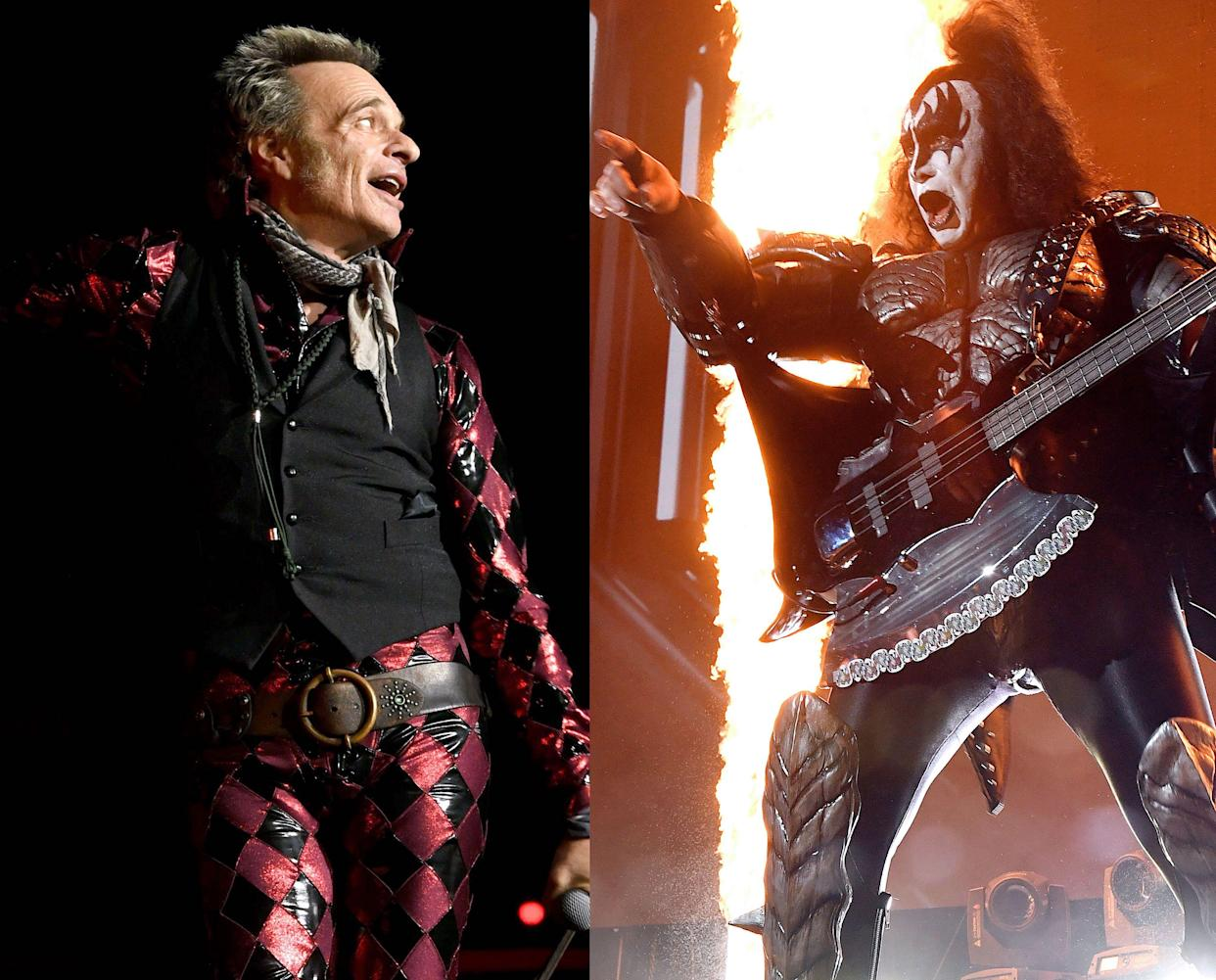David Lee Roth, Gene Simmons (Photo: Getty Images)