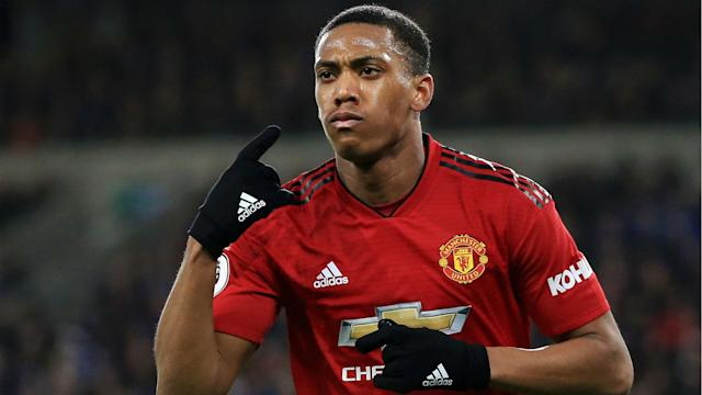 Ole Gunnar Solskjaer challenged Anthony Martial to reach the heights of five-time Ballon d'Or winner Cristiano Ronaldo.