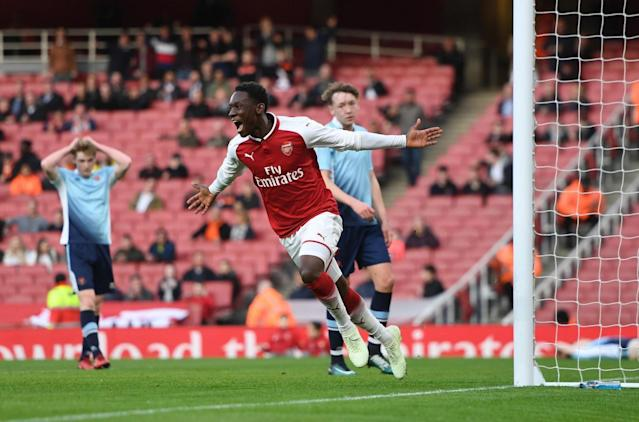 Arsenal Under-18s to face Chelsea in FA Youth Cup Final as young guns thrash Blackpool 5-0