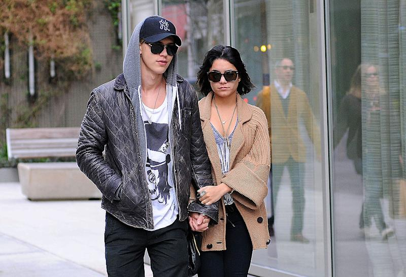 Vanessa Hudgens and Austin Butler, pictured in New York in 2012, have broken up after eight years. (Photo: ANDERSON/Bauer-Griffin/GC Images)