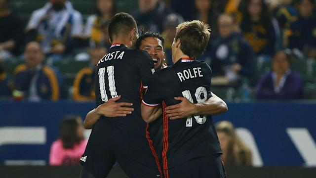 Luciano Acosta scored one and created another as his DC United came from behind to beat Atlanta 3-1 in MLS.