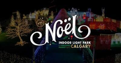 Noel Christmas Indoor Light Park & Market Calgary (CNW Group/Noel Christmas Light Park & Market)