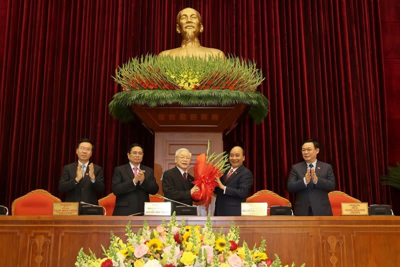 13th national congress of the ruling communist party of Vietnam in Hanoi
