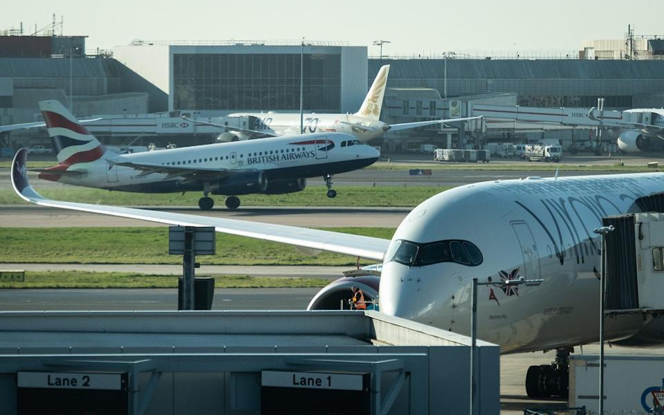 BA and Virgin at Heathrow - Leon Neal/Getty Images Europe