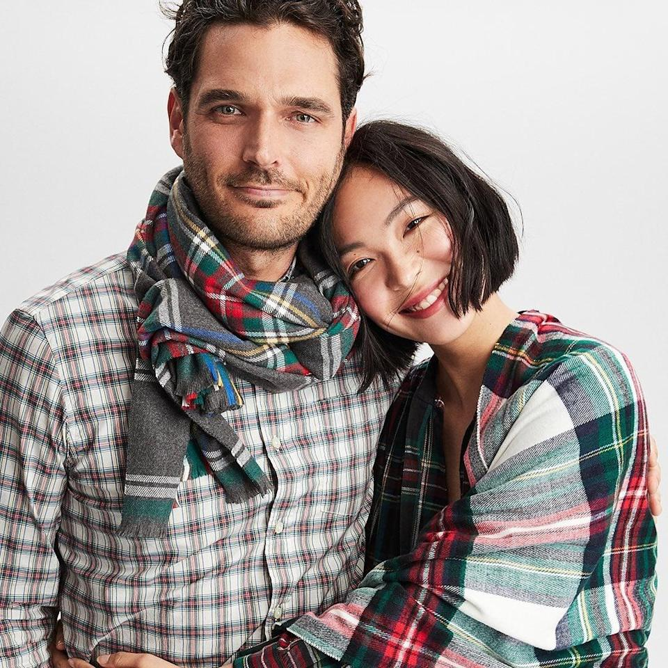 <p>Click through for plaids to cozy up to from head to toe and great deals that you'll be excited about.</p>