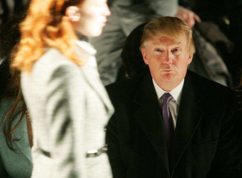 Donald Trump attends the Michael Kors Fall 2005 fashion show: Getty/Peter Kramer