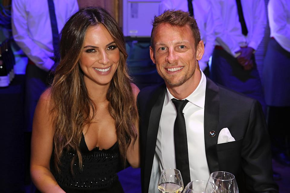 LONDON, ENGLAND - JUNE 01:  Brittny Ward and Jenson Button attend the 'End of Silence' charity event at Abbey Road Studios in aid of Hope and Homes for Children on June 1, 2016 in London, England.  (Photo by David M. Benett/Dave Benett/Getty Images for Hope and Homes for Children)