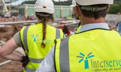 Interserve finance chief quits weeks after rescue deal