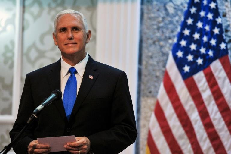 Pence addresses Noble Partner 2017, says Trump will sign sanctions against Russian Federation