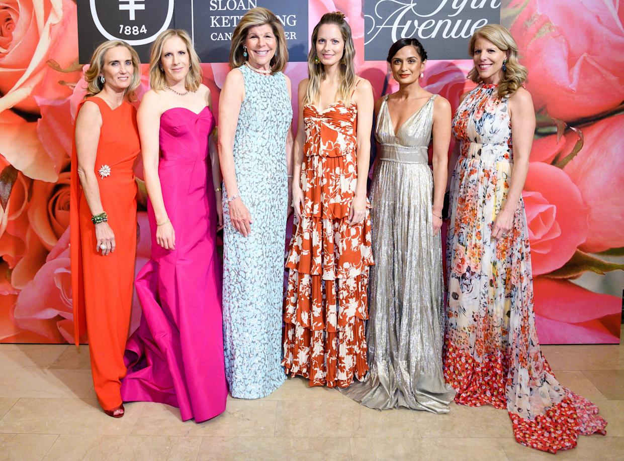It Was All Glitz and Glamour at Saks and Memorial Sloan