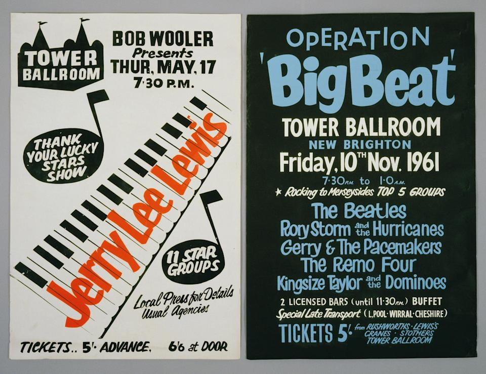 The Beatles played at the Tower Ballroom 27 times - Getty