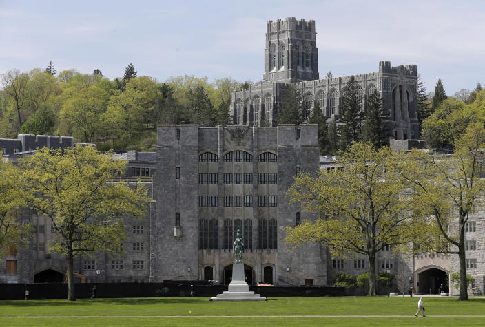 Image: A view of the United States Military Academy at West Point, N.Y. (Seth Wenig / AP file)