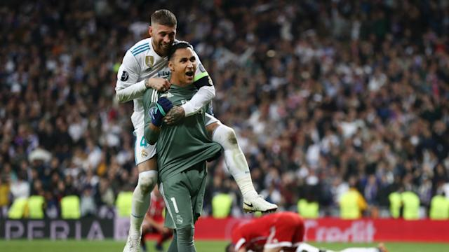 Keylor Navas, Real Madrid v Liverpool, 2018