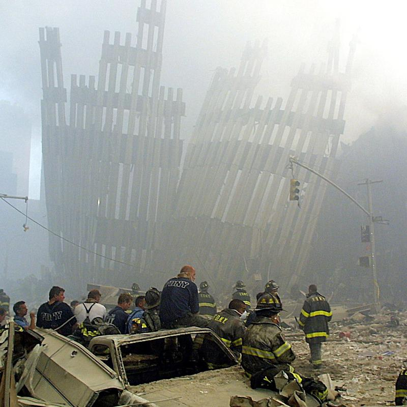 twin towers - Credit: AFP