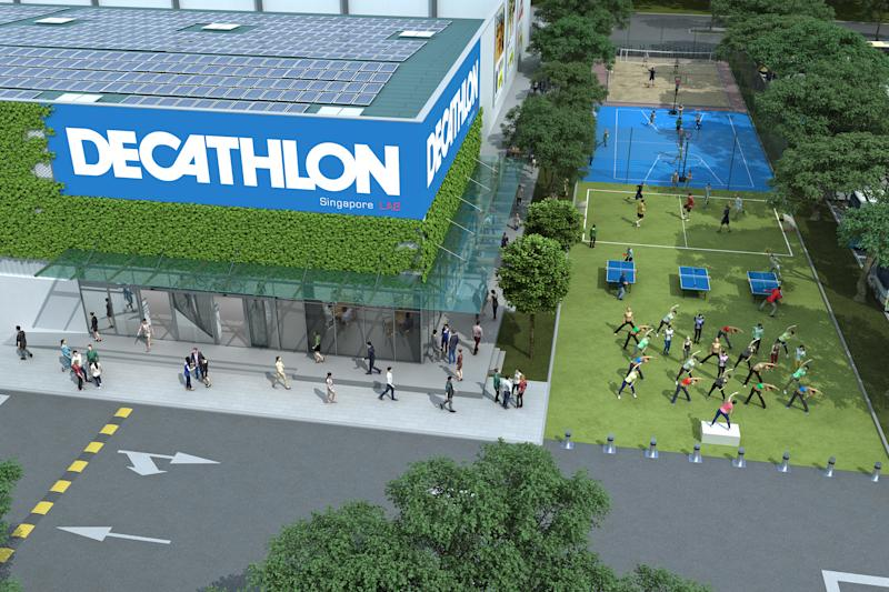 Decathlon partners Sport Singapore for upcoming largest store in ... bf5785b29a3