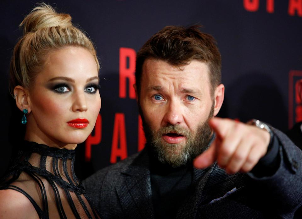 Jennifer Lawrence and Joel Edgerton are promoting new movie 'Red Sparrow' together (Reuters)