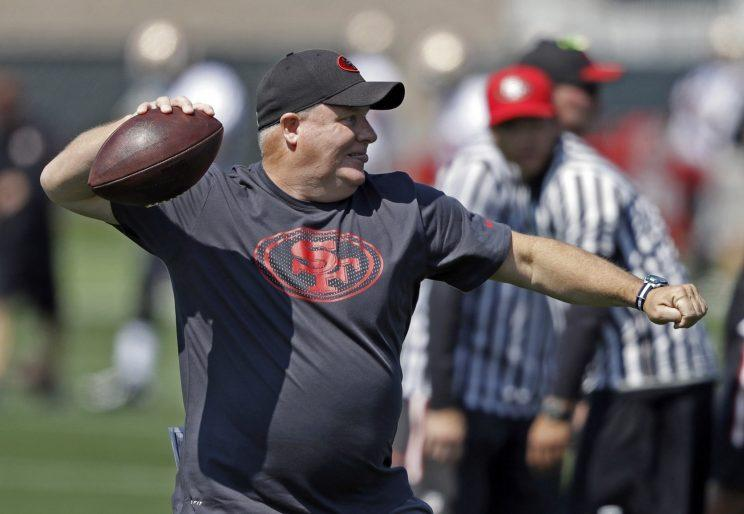 Chip Kelly is a free agent, and will be the hottest coaching prospect in college football. (AP)