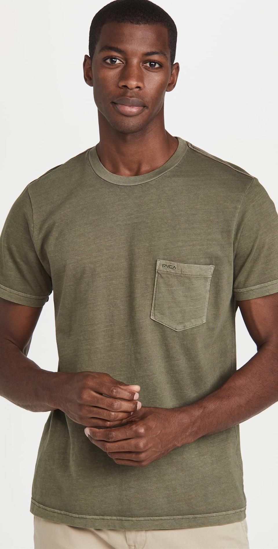 <p>This <span>RVCA Ptc 2 Pigment Tee</span> ($30) is the answer to lazy days when you don't feel like getting dressed. It's as perfect for a quick outing as it is for getting back in bed.</p>