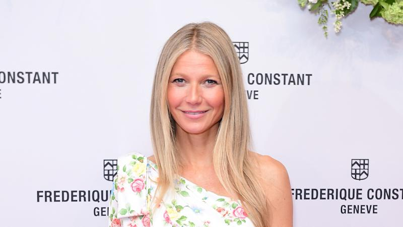 Gwyneth Paltrow makes Contagion joke as she dons mask on flight to Paris