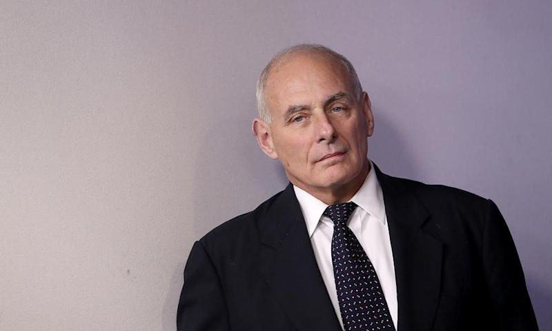 John Kelly said it was 'dangerous' to remove historical markers like statues.