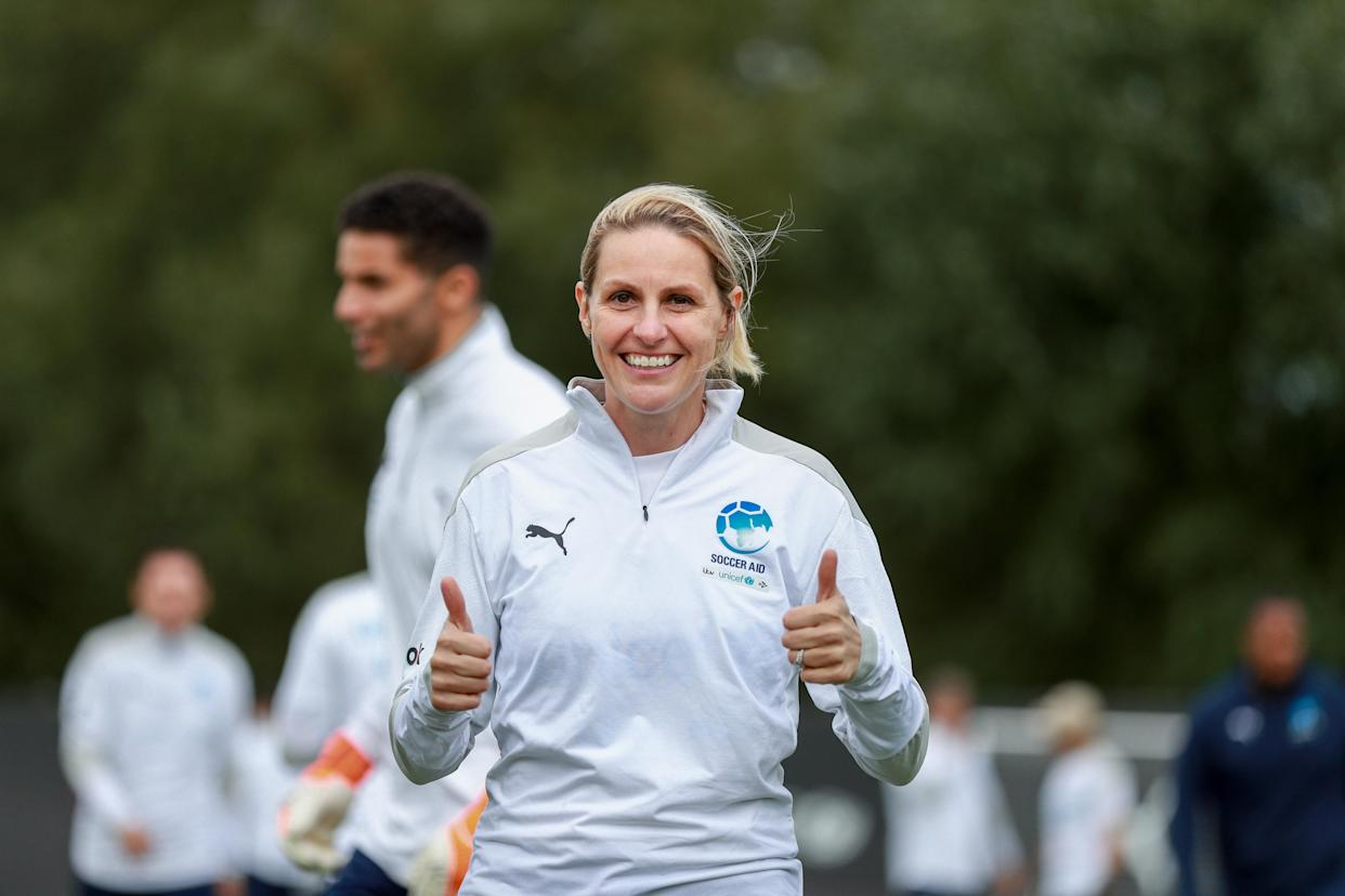 Smith is set to return to action in Soccer Aid for UNICEF 2020 in September (Soccer Aid for UNICEF).