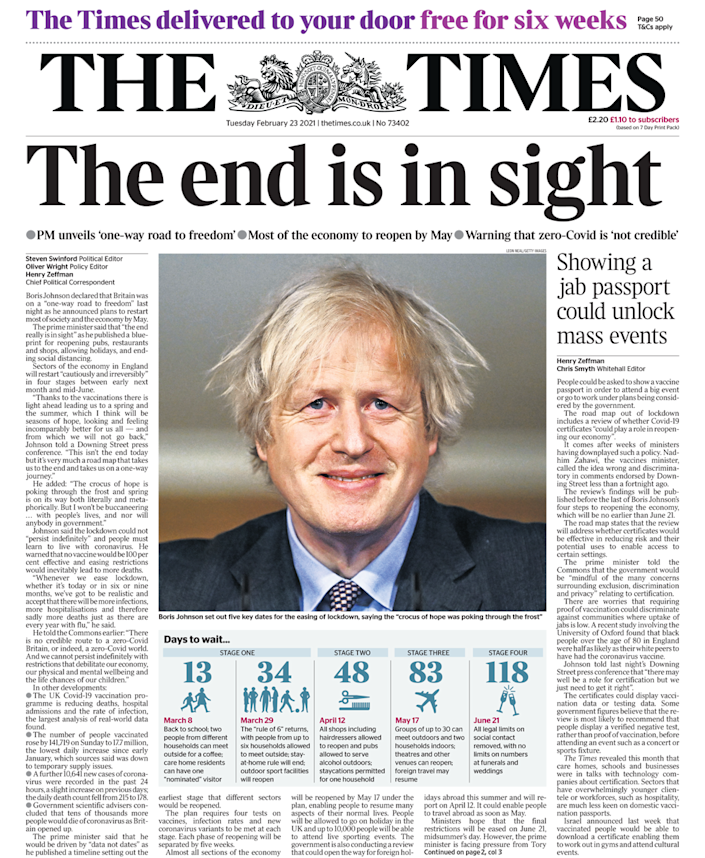 <p>Photo by The Times</p>