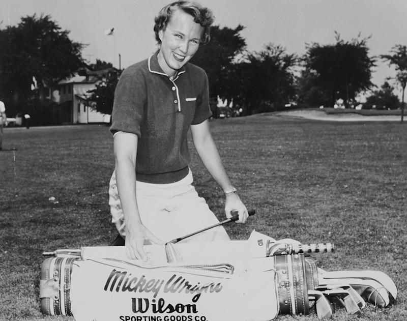 Mickey Wright is widely considered the greatest female golfer ever. (PGA of America via Getty Images)