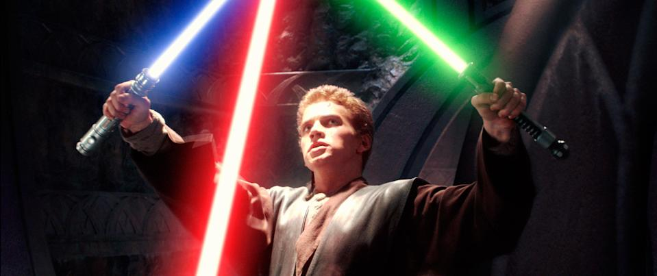 "<h1 class=""title"">STAR WARS: EPISODE II-ATTACK OF THE CLONES, Hayden Christensen, 2002. TM and ©copyright Twentieth Ce</h1> <cite class=""credit"">©20thCentFox/Courtesy Everett Collection</cite>"