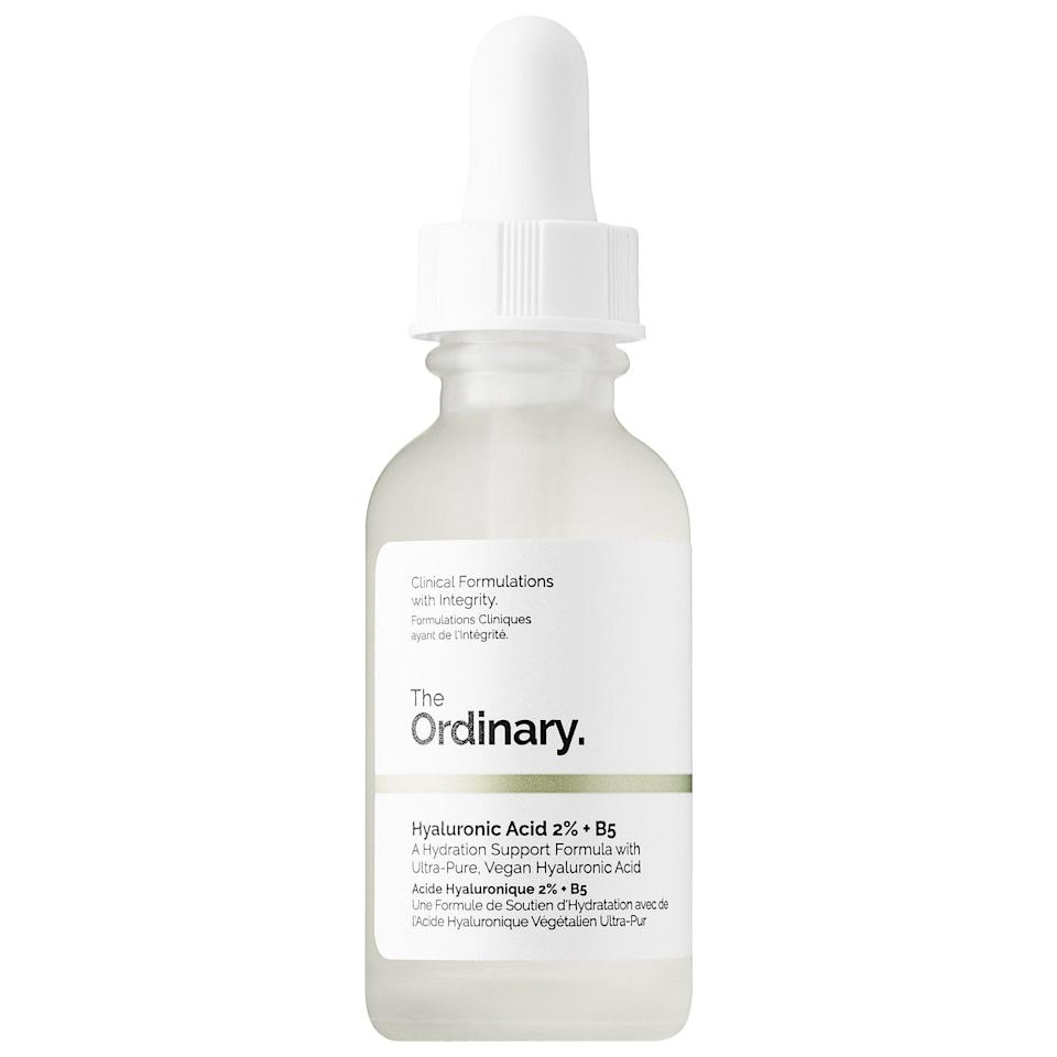 <p>If you're looking for no-fuss hydration, this <span>The Ordinary Hyaluronic Acid 2% + B5</span> ($7) was made for you.</p>