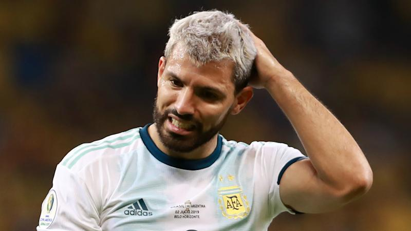 VAR worked very well until today - Aguero annoyed after Argentina's Copa America exit