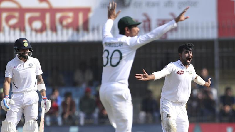 Virat Kohli has failed but India remain in control in the first Test against against Bangladesh