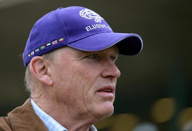 "Trainer John Gosden credits a ""great bunch"" of owner/breeders for the majority of his success (AFP Photo/Harry How)"