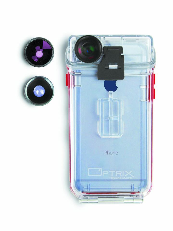 hot sale online ae642 26a9c Body Glove Optrix 6 iPhone Waterproof Case with Lenses