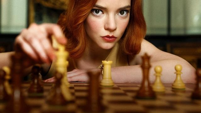 Still from The Queen's Gambit