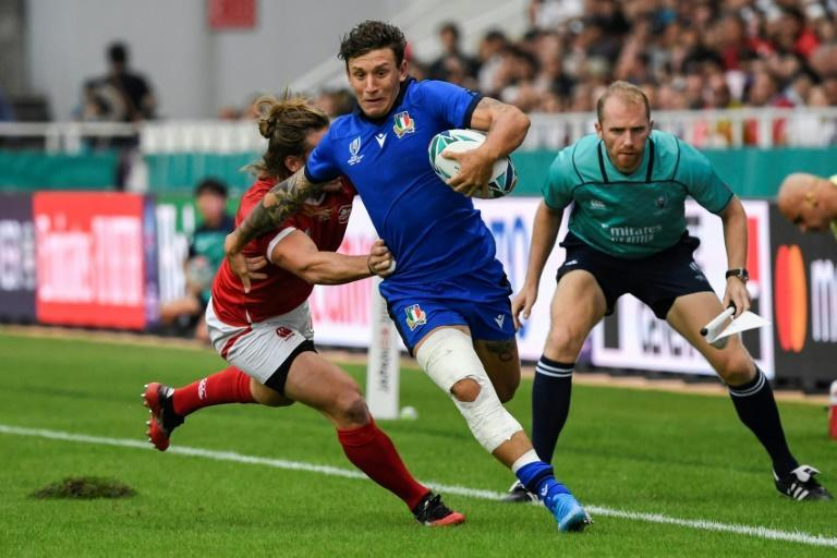 Matteo Minozzi returns at full-back for Italy against England