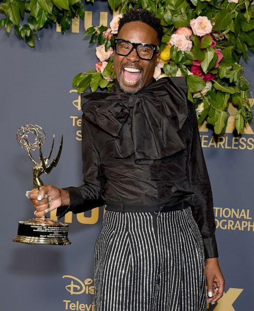 PHOTO: Billy Porter arrives at the Walt Disney Television Emmy Party on Sept. 22, 2019 in Los Angeles. (Gregg Deguire/Getty Images, FILE)