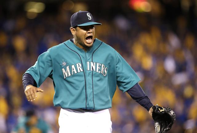 Felix Hernandez (AP Photo/Elaine Thompson)