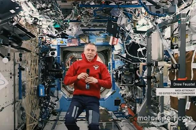 "Drew Feustel, NASA astronaut into the International Space Station <span class=""copyright"">MotoGP</span>"