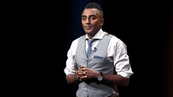 PHOTO: Chef/co-owner at Red Rooster Harlem, Marcus Samuelsson, speaks onstage during 'Letter from Harlem: Investing in a Community' at the Vanity Fair New Establishment Summit at Yerba Buena Center for the Arts, Oct. 20, 2016, in San Francisco, Calif. (Michael Kovac/Getty Images for Vanity Fair)