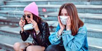 "<p>For all you glasses (or sunglasses) wearers, you know the struggle that comes with donning both your <a href=""https://www.cosmopolitan.com/style-beauty/fashion/a33625528/cosmo-echo-face-masks/"" rel=""nofollow noopener"" target=""_blank"" data-ylk=""slk:face mask"" class=""link rapid-noclick-resp"">face mask </a>and your spectacles at the same time: Things can get real foggy. While super annoying, it's also a super common issue—and by no means is it a reason to forgo masking up altogether (so don't even go there).</p><p>But first, why do face masks cloud up glasses so much? According to ophthalmologist and president of <a href=""https://www.prnewswire.com/il/news-releases/halodine-r-nasal-and-oral-antiseptics-show-rapid-antiviral-activity-against-sars-cov-2-covid-19--803376282.html"" rel=""nofollow noopener"" target=""_blank"" data-ylk=""slk:Halodine"" class=""link rapid-noclick-resp"">Halodine</a>, <a href=""https://oceanophthalmology.com/dr-jesse-pelletier-md-facs"" rel=""nofollow noopener"" target=""_blank"" data-ylk=""slk:Jesse Pelletier, MD FACS"" class=""link rapid-noclick-resp"">Jesse Pelletier, MD FACS</a>, this happens because of condensation caused by our warm breaths.""With every exhalation, increased pressure between the mask and face pushes the mask outwards and creates perimeter leakage."" In layman's terms, your breath is escaping through the top of your mask and causing condensation on your lens.</p><p>Aside from all the annoying fogginess, your breath escaping from your mask is a big no-no, considering that the purpose of a face mask is to protect others from any droplets that may escape when you talk, sneeze, or cough. So if your glasses are clouding up, then your face mask isn't properly fitted.</p><p>But the good news is you can certainly <a href=""https://www.cdc.gov/coronavirus/2019-ncov/prevent-getting-sick/cloth-face-cover-guidance.html"" rel=""nofollow noopener"" target=""_blank"" data-ylk=""slk:find face masks that are better fitted"" class=""link rapid-noclick-resp"">find face masks that are better fitted</a> for you, with more emphasis on leaving as little space between the upper rim of your mask and the bridge of your nose as possible. Dr. Pelletier recommends looking for ones with a conforming wire, like an <a href=""https://www.amazon.com/Certified-Makrite-Pre-Formed-Particulate-Respirator/dp/B08BGBKGWN/"" rel=""nofollow noopener"" target=""_blank"" data-ylk=""slk:N95"" class=""link rapid-noclick-resp"">N95</a> or <a href=""https://www.amazon.com/Protection-Breathable-Against-Pollution-Outdoor/dp/B087LR59CF/"" rel=""nofollow noopener"" target=""_blank"" data-ylk=""slk:KN95 respirator"" class=""link rapid-noclick-resp"">KN95 respirator</a>.</p><p>While there are a couple of other ways to alleviate foggy glasses from mask-wearing—such as wearing your specs further down on your nose or even using anti-fogging treatments on your lens (yes, those exist)—your best (and probably safest) bet is a mask with a firm wire that you can mold and shape closer to your face.</p><p>Add to that, your mask should have at least two layers of fabric for optimal protection against virus particles. But don't just take my word for it: <a href=""https://www.healthcentral.com/author/rashid-chotani"" rel=""nofollow noopener"" target=""_blank"" data-ylk=""slk:Rashid A. Chotani, MD"" class=""link rapid-noclick-resp"">Rashid A. Chotani, MD</a>, infectious disease and biodefense expert strongly advises this, because ""any space between the face and mask is a potential opening for the virus to enter your breathing space.""</p><p>Keeping these expert tips in mind, here are some of the <a href=""https://www.cosmopolitan.com/style-beauty/fashion/g32210697/where-to-buy-fashion-face-masks-online/"" rel=""nofollow noopener"" target=""_blank"" data-ylk=""slk:best face masks"" class=""link rapid-noclick-resp"">best face masks</a> for glasses wearers that'll help keep both the fogginess and virus particles at bay.<br></p>"