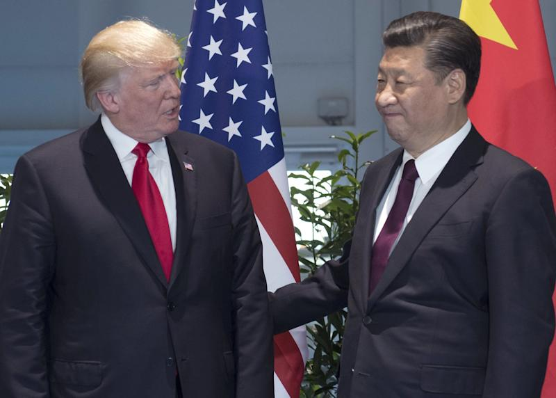 Trump Xi trade war