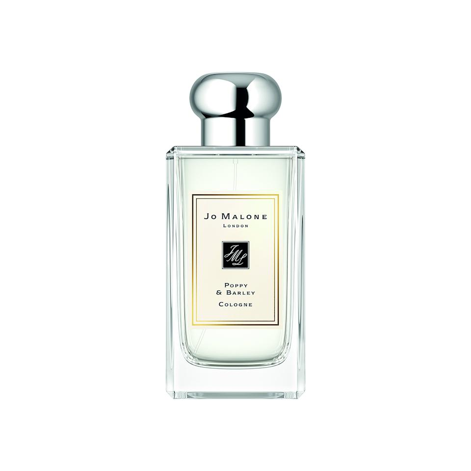 """<p>The immediate floral freshness comes from delicate airy notes of poppy, rose, and violet, which is balanced by the cotton-y, softness of barley, make Jo Malone's Poppy & Barley warm and familiar at first smell. Top notes of black currants add a brighter, almost unexpected, fruitiness that introduce a depth and richness that smell as refreshing as a fall harvest.</p> <p><strong>$140 for 3.4 ounces</strong> (<a href=""""https://shop-links.co/1681930484520958008"""" rel=""""nofollow"""">Shop Now</a>)</p>"""