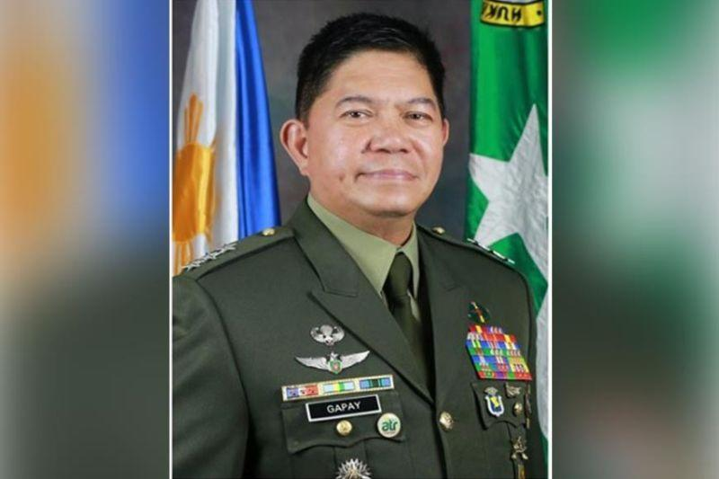Gapay named new Army chief
