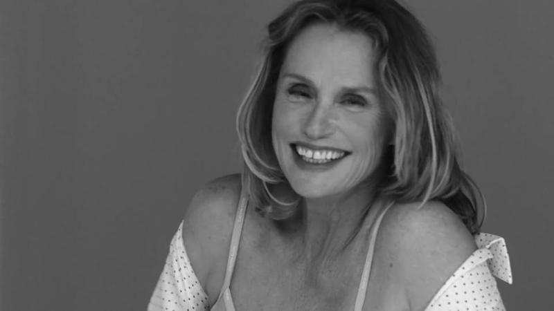 Lauren Hutton, 73, in Calvin Klein's latest underwear advert (Calvin Klein)