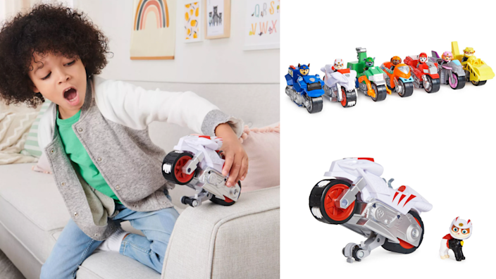 Best Easter gifts: PAW Patrol Moto Pups vehicles