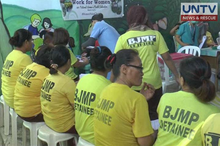 Over 100 inmates in Bacoor City Jail receive free medical ...