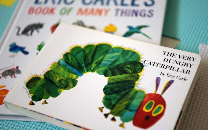 The Very Hungry Caterpillar has been read by millions of children - GETTY IMAGES