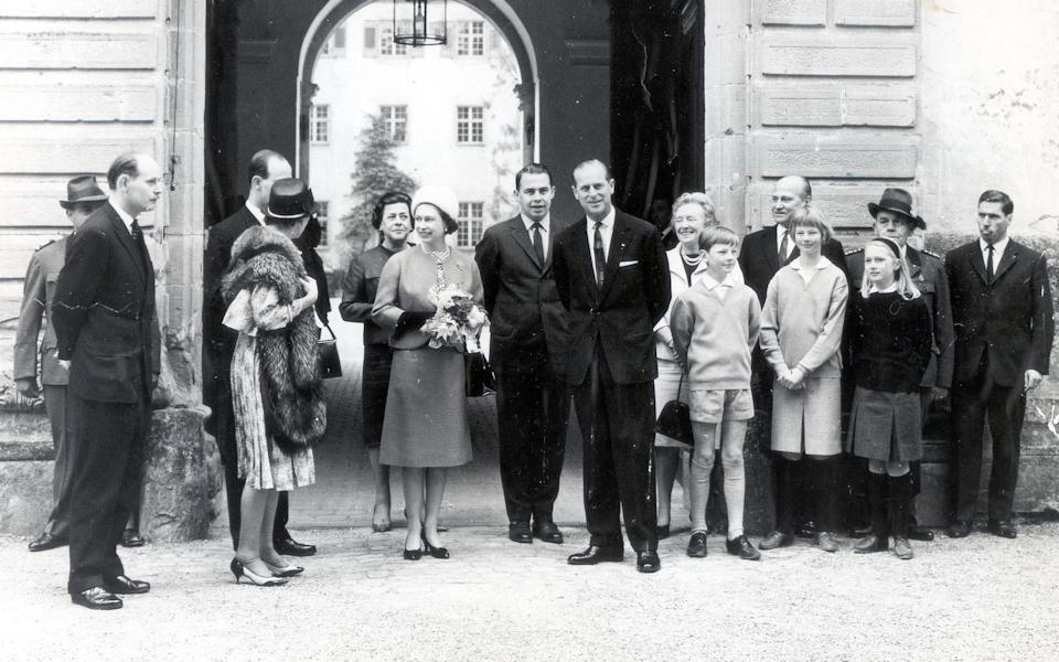 Queen Elizabeth II And Prince Philip visit West Germany 1965 - Knoote/Daily Mail/Shutterstock