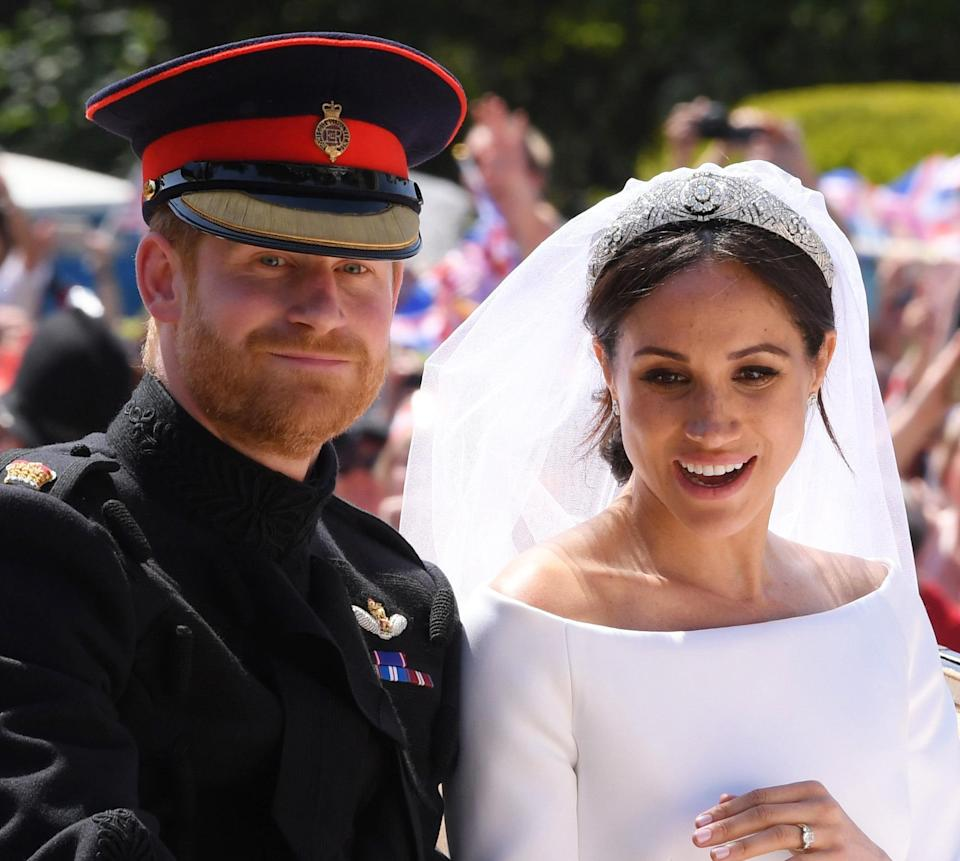Prince Harry and Meghan Markle (Rex)