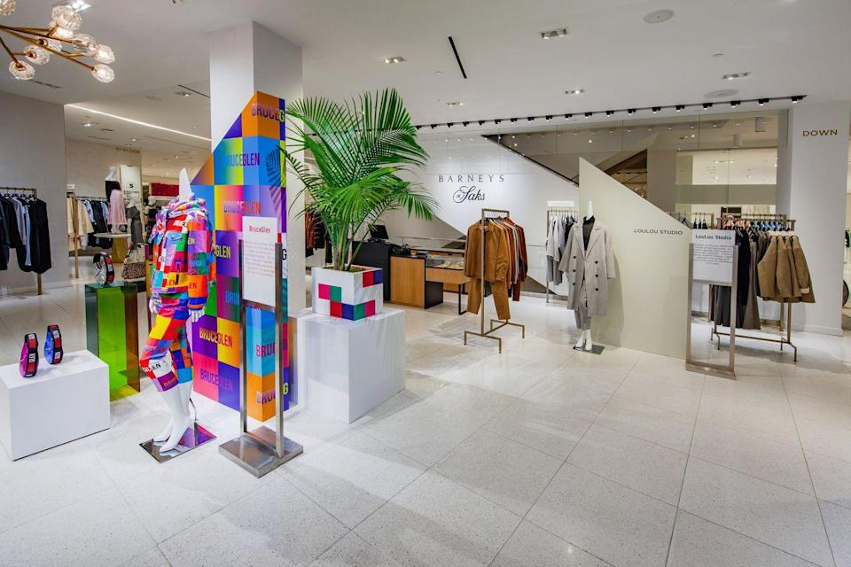 "<p><strong>Who: </strong>Barneys at Saks</p><p><strong>What:</strong> Saks Fifth Avenue debuts Barneys at flagship store</p><p><strong>Where: </strong>Saks NYC's flagship store and <a href=""https://go.redirectingat.com?id=74968X1596630&url=https%3A%2F%2Fwww.saksfifthavenue.com%2Fc%2Fbarneys-at-saks&sref=https%3A%2F%2Fwww.elle.com%2Ffashion%2Fg34965868%2Fnew-fashion-launch-collaborations-january-2021%2F"" rel=""nofollow noopener"" target=""_blank"" data-ylk=""slk:saksfifthavenue.com"" class=""link rapid-noclick-resp"">saksfifthavenue.com</a></p><p><strong>Why: </strong>In a wild, wholesome turn of events, New York Icon Saks Fifth Avenue is joining forces with <em>another </em>New York Icon, Barneys. The latter shuttered earlier this year, but Saks welcomed them with an installation on their fifth floor. The pop-up will feature a curated set of emerging and established brands alike (what Barney's was known for), including sixteen labels that new to Saks<em>. </em></p><p><a class=""link rapid-noclick-resp"" href=""https://go.redirectingat.com?id=74968X1596630&url=https%3A%2F%2Fwww.saksfifthavenue.com%2Fc%2Fbarneys-at-saks&sref=https%3A%2F%2Fwww.elle.com%2Ffashion%2Fg34965868%2Fnew-fashion-launch-collaborations-january-2021%2F"" rel=""nofollow noopener"" target=""_blank"" data-ylk=""slk:SHOP NOW"">SHOP NOW</a><br></p>"